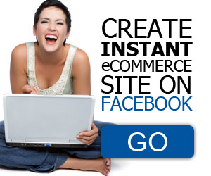 Instant Ecommerce Site on Facebook