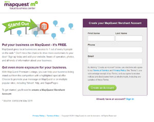 Guide to Local Business Search Mapquest