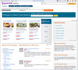 Guide to Local Business Search Yahoo