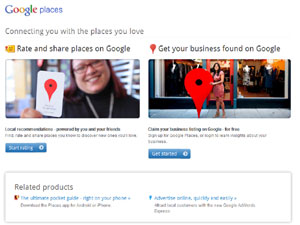 local business search googleplaces