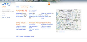Guide to Local Business Search Bing